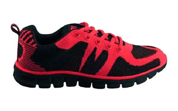 CHROME RED BLACK