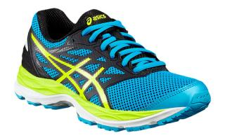 ASICS GEL CUMULUS 18 JUNIOR AZUL C624N 4107