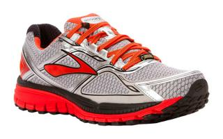 BROOKS GHOST 8 GTX GRIS NARANJA