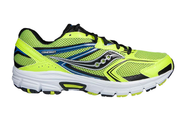 Saucony Cohesion 9 Citron Black| Up to 25% Off