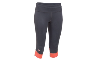 Under Armour MALLA NEGRO NARANJA COMPRESSION CAPRY