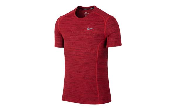 b0f00bd6846a3 Nike T-SHIRT NIKE COOL MILER RED 718348 658