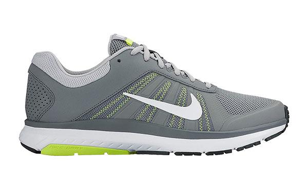 e6b654a21d1d Nike DART 12 GREY FLUORESCENT YELLOW