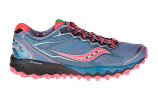 SAUCONY PEREGRINE 6 MUJER GRIS ROSA S10302-1