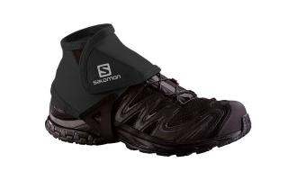 Salomon GUETRE BASSE TRAIL GAITERS NOIRES