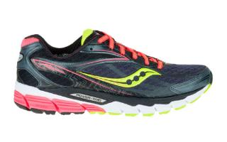 Saucony RIDE 8 MUJER NEGRO CORAL CITRON S10273-4