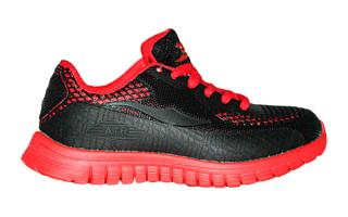 Softee SHELL JUNIOR NEGRO ROJO