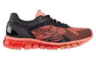 Asics GEL QUANTUM 360 KNIT MUJER NEGRO CORAL T778N 7690