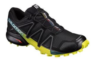 Salomon SPEEDCROSS 4 BLACK FLUORESCENT YELLOW 392398