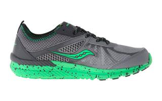 SAUCONY BOYS VOLT GREY GREEN SY54798
