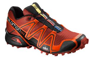 SALOMON SPEEDCROSS 3 ROJO NARANJA